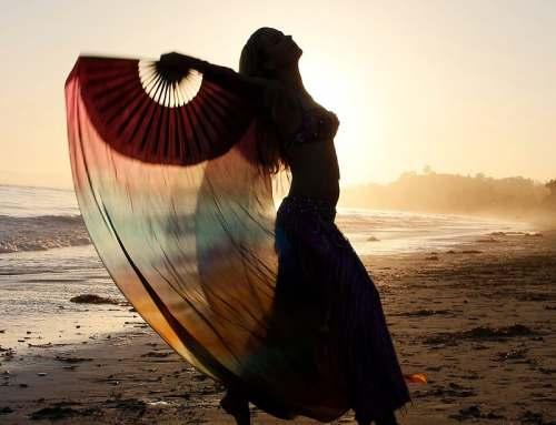 California Belly Dancer on the Beach